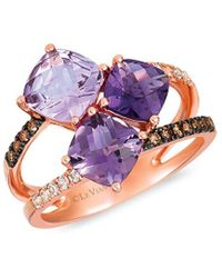 Le Vian ? 14k Strawberry Gold 2.81 Ct. Tw. Diamond & Gemstone Ring - Multicolour