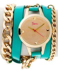 Boum Women's Emballage Watch - Blue