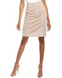 Tahari Pencil Skirt - Natural