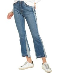 Hudson Jeans Holly Conquest Cropped Flare Leg Jean - Blue
