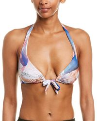 Gottex Dusk To Dawn Bikini Top - Blue