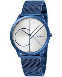 Calvin Klein Minimal Watch - Blue
