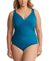 Miraclesuit New Revelations Reversible One-piece - Blue