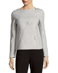 Akris - Bombay Cashmere Top - Lyst