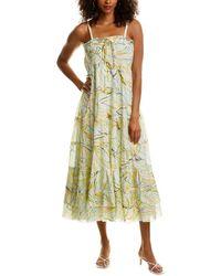 Diane von Furstenberg Julia Soft Voile Convertible Dress - Multicolour