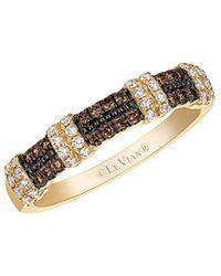 Le Vian 14k 0.33 Ct. Tw. White & Brown Diamond Ring - Multicolour