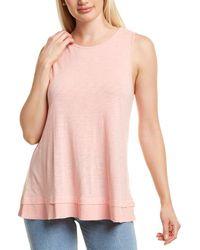 XCVI Wearables Philo Tank - Pink