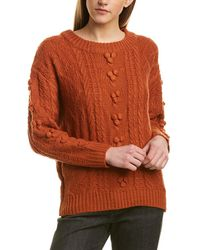 Etienne Marcel Chunky Sweater - Orange