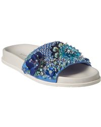 Kenneth Cole - Xenia Sequined Slide - Lyst