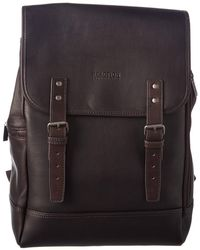 Kenneth Cole Reaction - Computer Packer Leather Backpack - Lyst