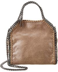 Stella McCartney Falabella Metallic Tiny Tote - Multicolour