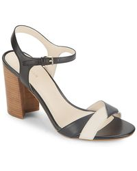Cole Haan - Florena Colorblock Leather Sandal - Lyst