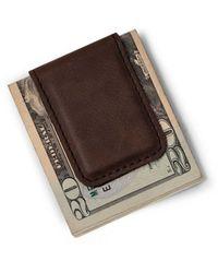 Bey-berk Austin Brown Money Clip
