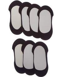 Memoi - 7pk Liner Socks - Lyst