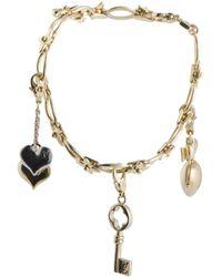 Louis Vuitton - Louis Vuitton 18k Two-tone Peridot Bracelet - Lyst