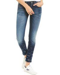 R13 Alison Camden Skinny Leg - Blue