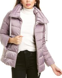 Herno Short Down Jacket - Purple