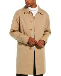 Burberry The Pimlico Heritage Car Coat - Natural