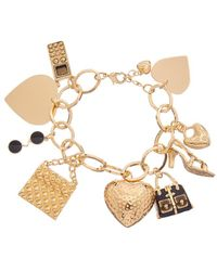 Kenneth Jay Lane - Plated Bracelet - Lyst