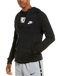 Nike Sportswear Advance 15 Men's Full-zip Hoodie - Black