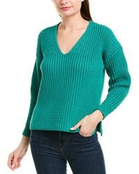 525 America Chunky Pullover - Green