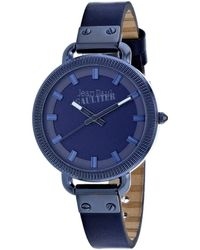 Jean Paul Gaultier Women's Index Watch - Blue