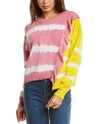 Parker Jorja Combo Sweater - Pink