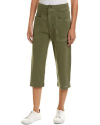 James Perse - Cropped Pant - Lyst