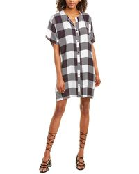 Emerson Fry India Collection Shirtdress - White