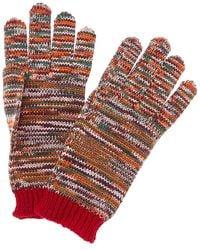 Missoni Wool Gloves - Orange