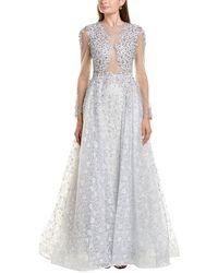 Mac Duggal A-line Gown - Multicolour