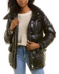 Woolrich Alquippa Puffy Wool-lined Jacket - Black