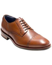Cole Haan Watson Leather Oxford - Brown