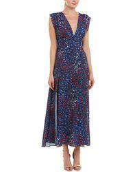 French Connection Frances Maxi Dress - Blue