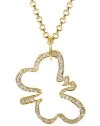 Robert Lee Morris 18k 1.10 Ct. Tw. Diamond Necklace - Metallic