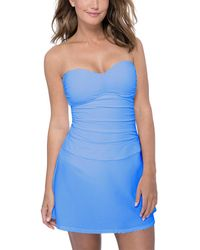 Gottex Ribbons Cover Up Skirt - Blue
