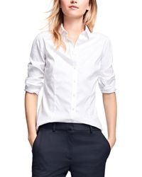 Brooks Brothers Blouse - White
