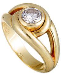 Cartier Cartier 18k 0.85 Ct. Tw. Diamond Ring - Metallic