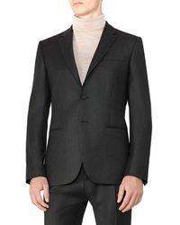Reiss - Frazier B Modern Fit Wool Jacket - Lyst