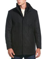 Marc New York Coyle Wool-blend Coat - Black