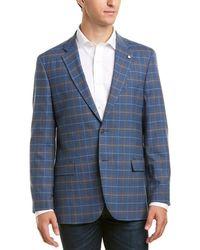 Nautica Wool-blend Sportcoat - Blue