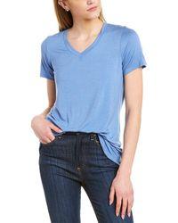 Forte V-neck T-shirt - Blue