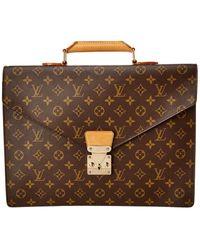 Louis Vuitton Monogram Canvas Serviette Conseiller - Brown