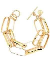Gabi Rielle Gold Over Silver Bracelet - Metallic
