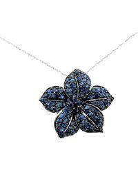 Le Vian 14k 2.30 Ct. Tw. Blueberry Sapphire Pendant Necklace