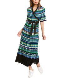 Maje Ramacca Maxi Dress - Green