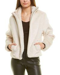 Vince Plush Jacket - White
