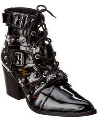 Sam Edelman Elana Leather Bootie - Black