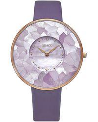 SO & CO Soho Watch - Purple