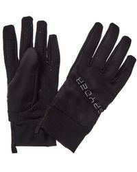 Spyder Hybrid Gloves - Black